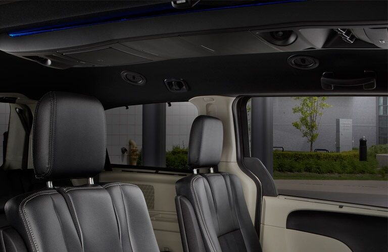 Interior seating of the 2016 Dodge Grand Caravan