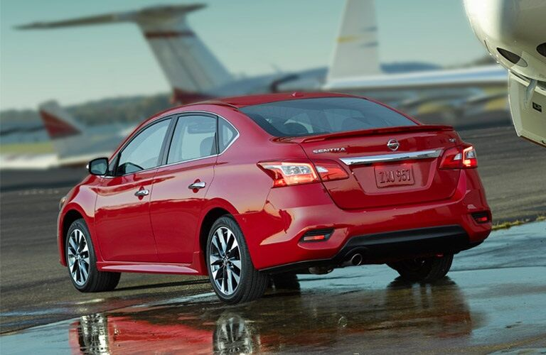 red 2016 Nissan Sentra