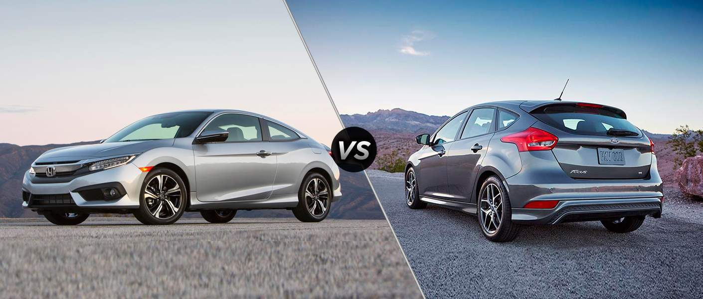 2017 Honda Civic vs 2017 Ford Focus