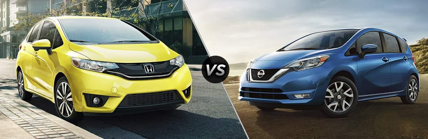 2017 Honda Fit vs 2017 Nissan Versa Note