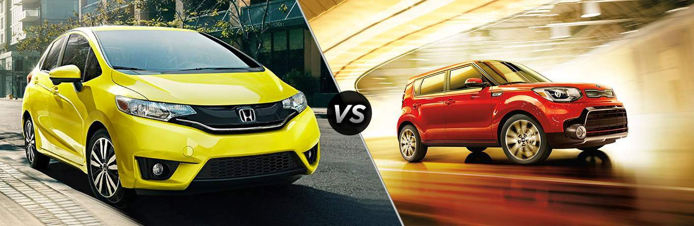 2017 Honda Fit vs 2017 Kia Soul