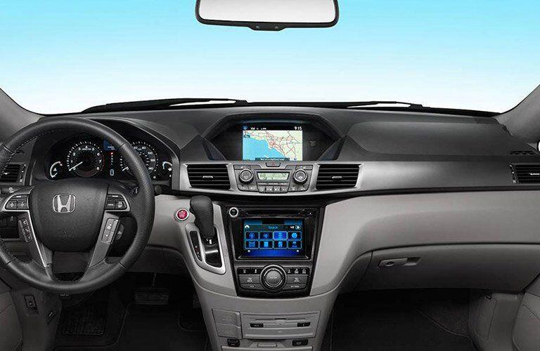 2017 Honda Odyssey dashboard