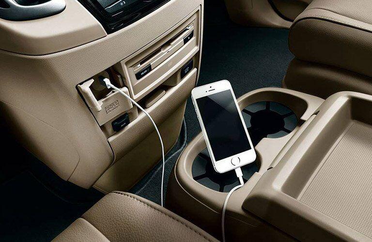 2017 Honda Odyssey charging ports