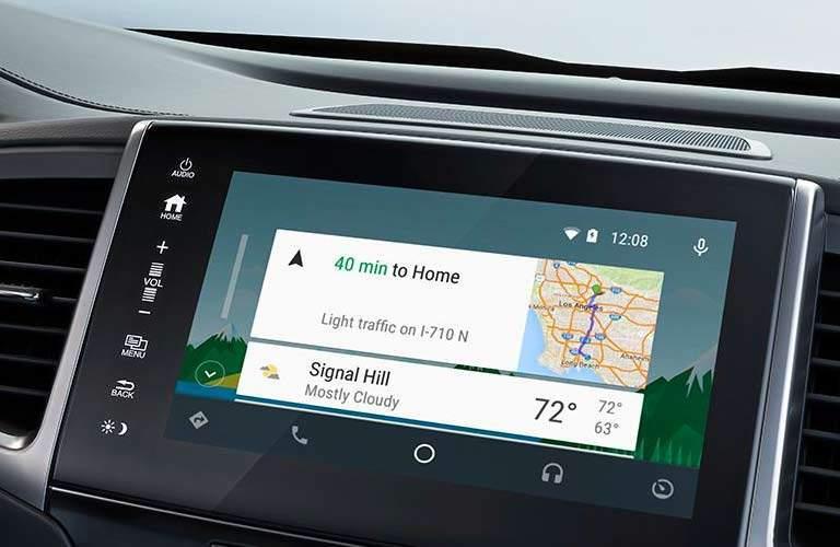 2017 Honda Pilot touchscreen display