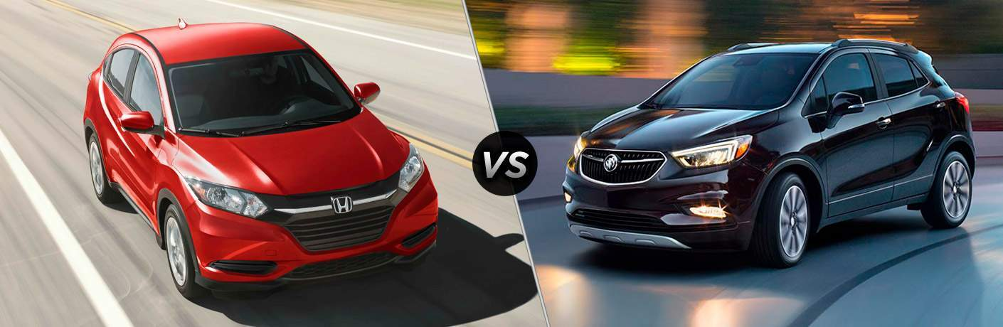 2017 Honda HR-V vs 2017 Buick Encore