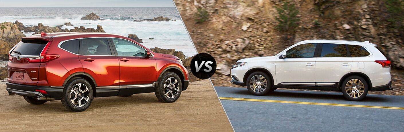 2018 Honda CR-V vs 2018 Mitsubishi Outlander