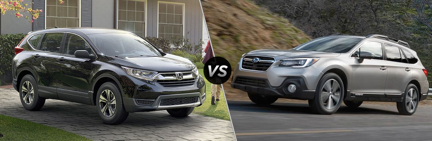 2018 Honda CR-V vs 2018 Subaru Outback
