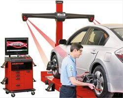Wheel Alignment Machine >> Laser Wheel Alignment