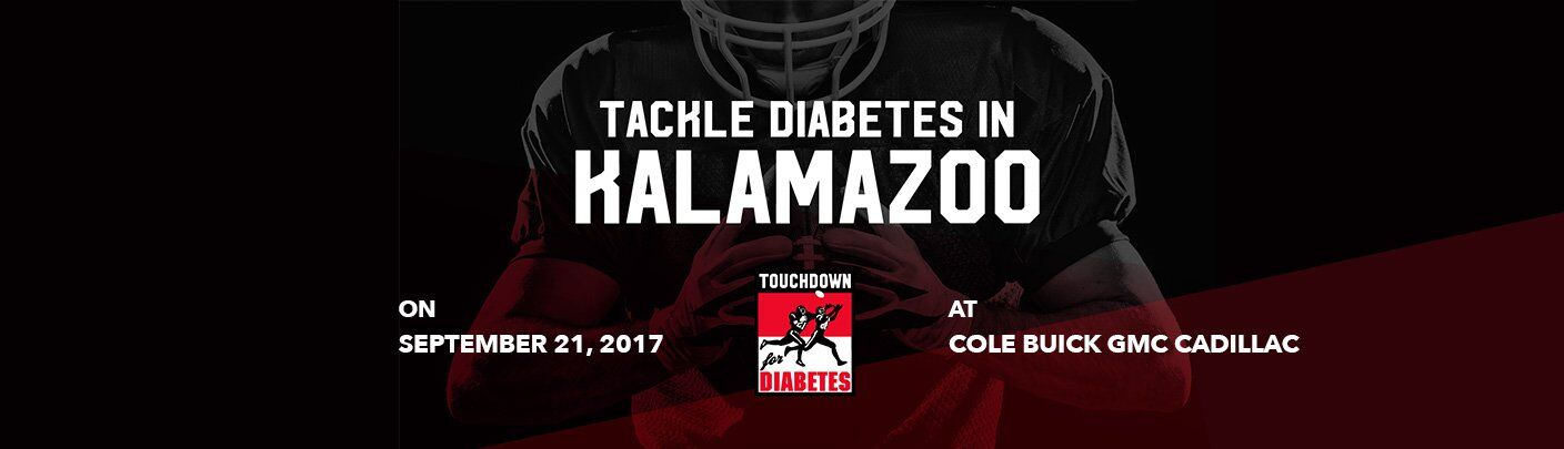 Touchdown for Diabetes Banner