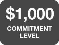 $1,000 Commitment Level