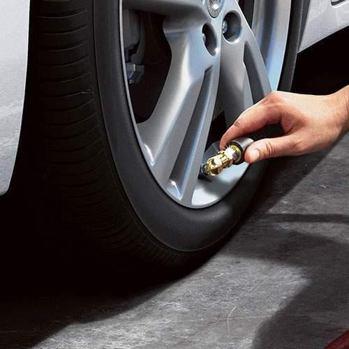 Easy-Fill tire alert