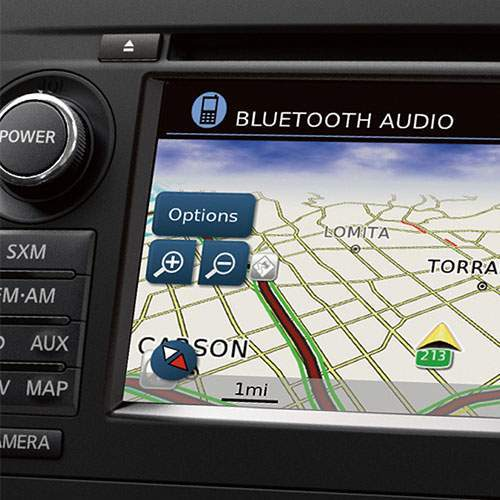 Altima 7-inch multi-touch display