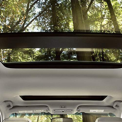 Pathfinder Dual Panel Panoramic Moonroof