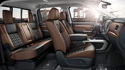 2017 Titan XD Interior
