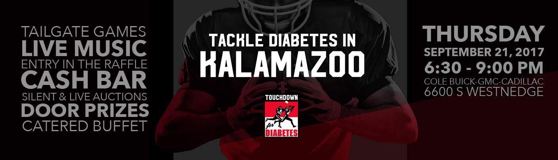 Touchdown for Diabetes Banner