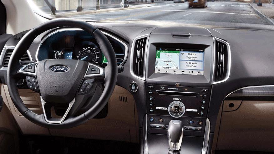 2017 Ford Edge Interior