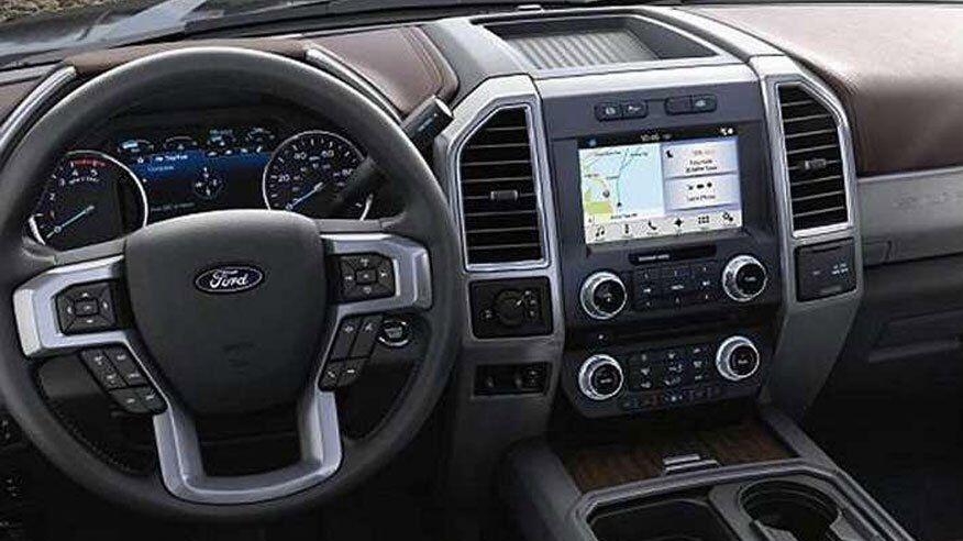 2017 Ford SuperDuty F-350 Interior