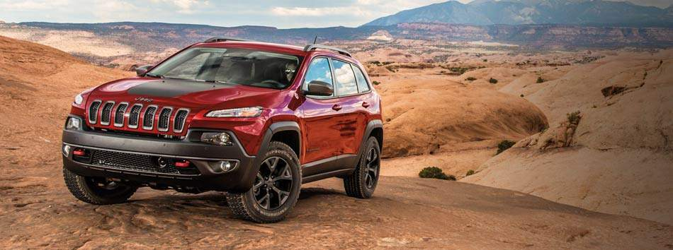 2017 Jeep Cherokee Spotlight Vehicle