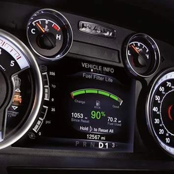 DRIVER INFORMATION DIGITAL CLUSTER DISPLAY