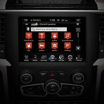 Uconnect® 8.4 with an 8.4-Inch Touchscreen