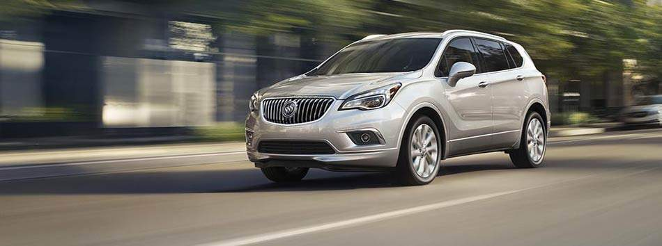 2017 Buick Envision Spotlight Vehicle