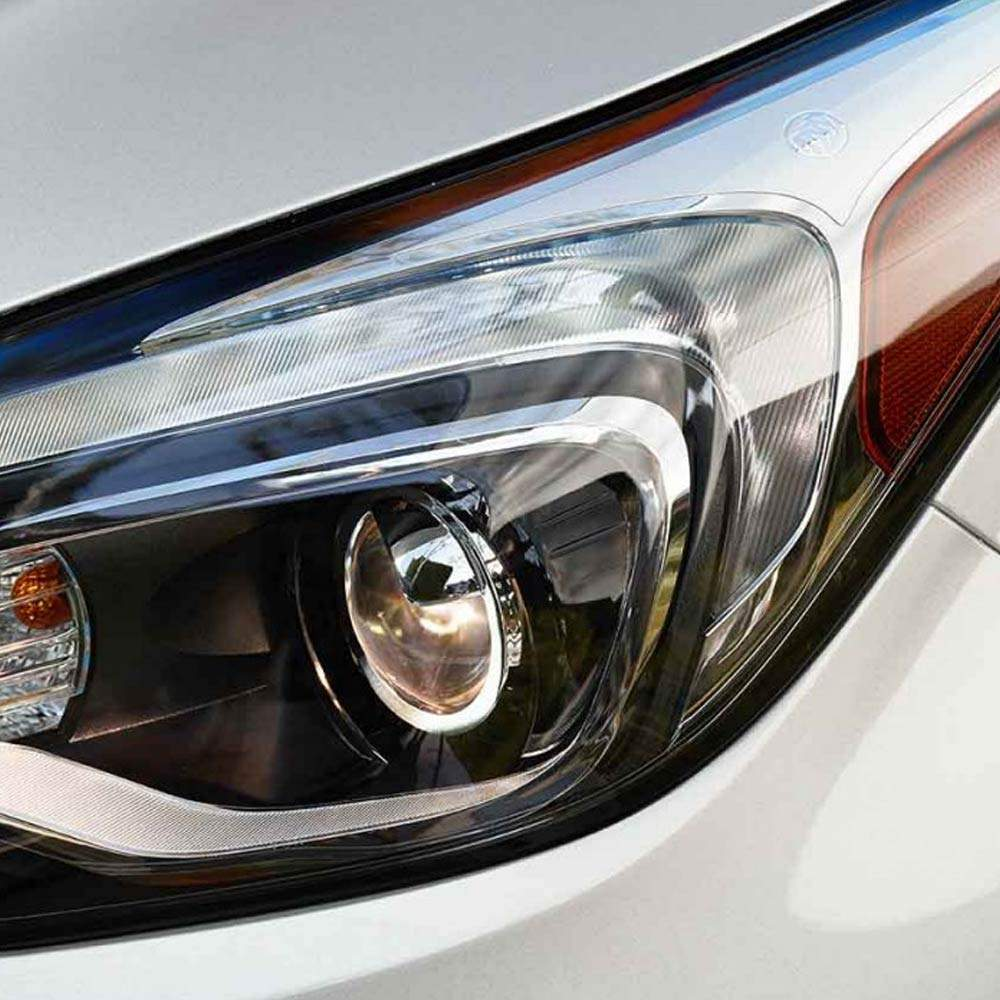 Articulating HID headlamps