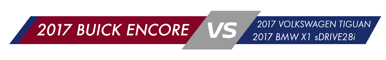 2017 Buick Encore Vehicle Comparison
