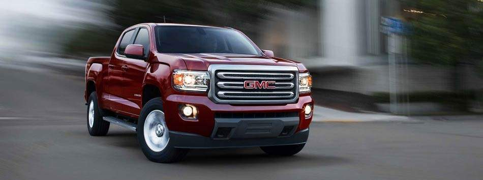 2017 GMC Canyon Spotlight Vehicle