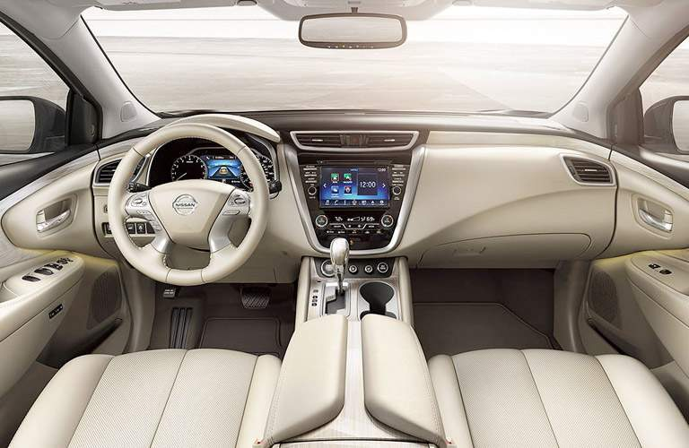 nissan murano interior white seats