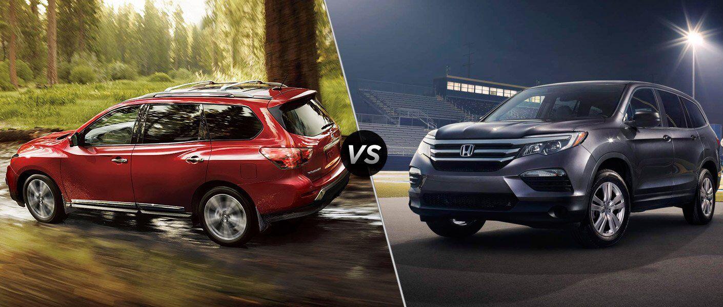 2017 Nissan Pathfinder vs 2017 Honda Pilot