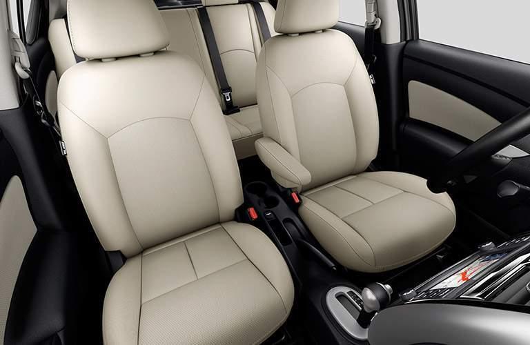 2017 Nissan Versa inside, seating
