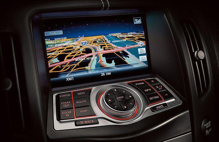 nissan 370z navigation screen
