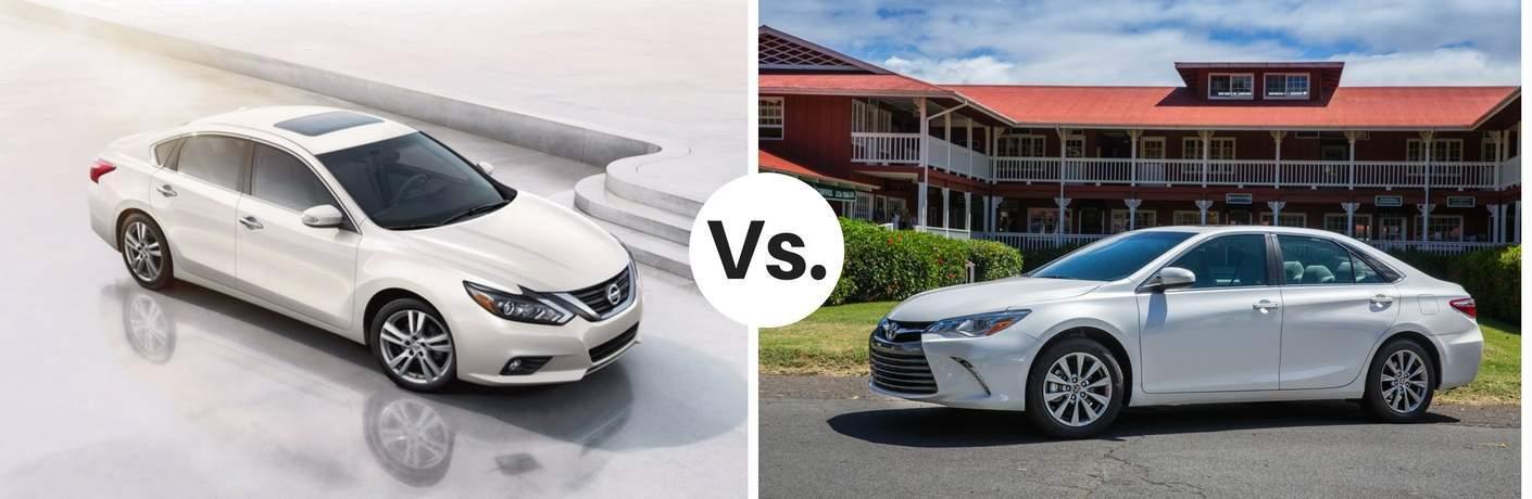 2017 Nissan Altima vs. 2017 Toyota Camry