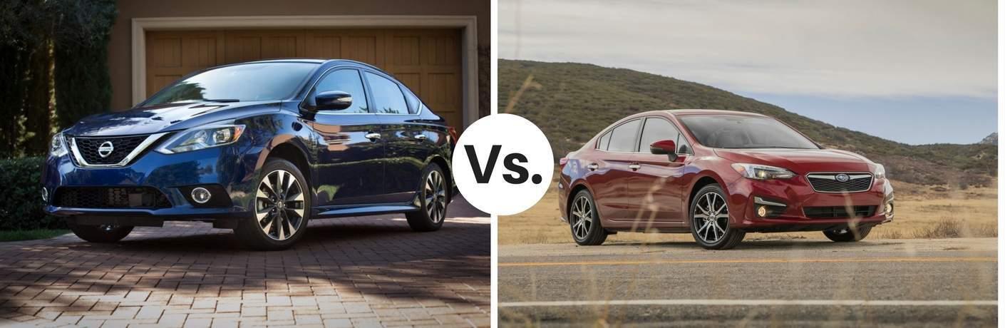 2017 Nissan Sentra vs. 2017 Subaru Impreza