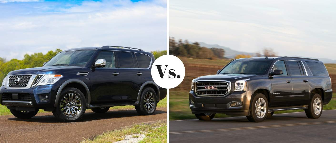 2018 NIssan Armada compared to 2018 GMC Yukon