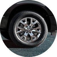 Image of a 2020 Nissan TITAN wheel