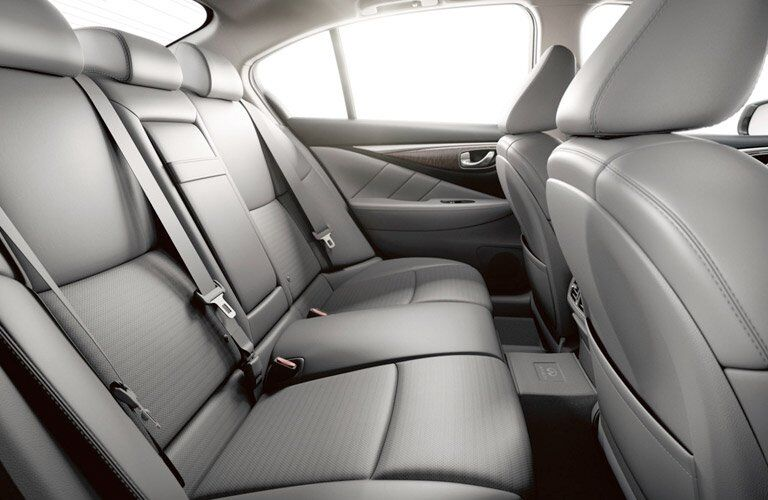 infiniti q50 interior, back seats