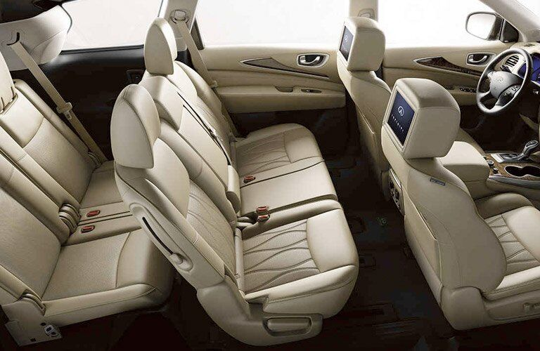 infiniti qx60 interior, tan seats