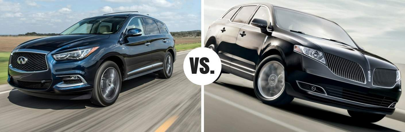 infiniti qx60 compared to lincoln mkt