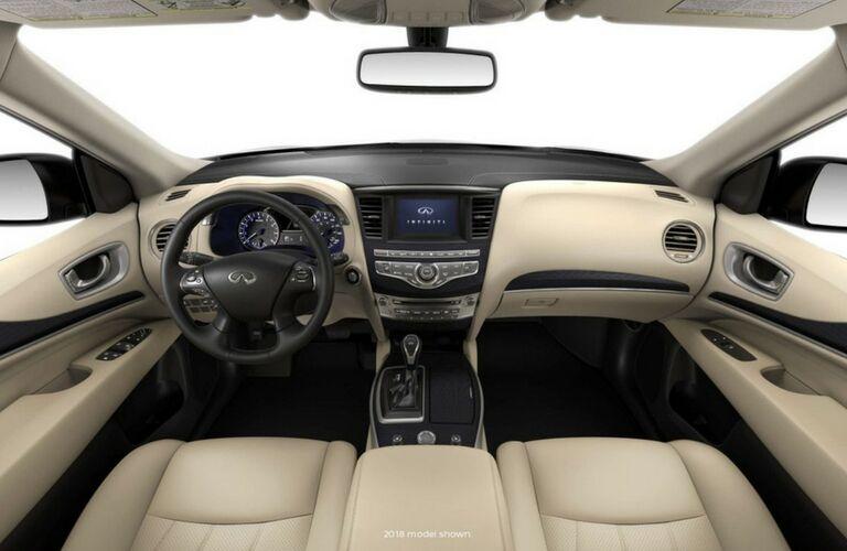 2019 INFINITI QX60 interior front view
