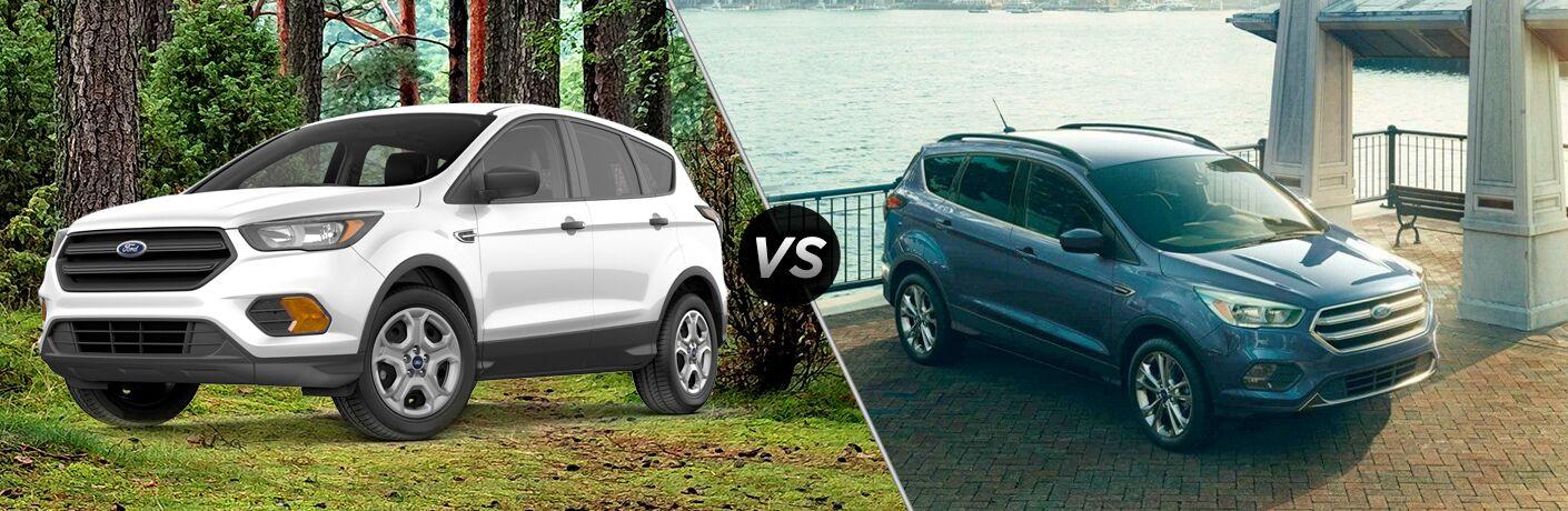 2018 Ford Escape S vs. SE