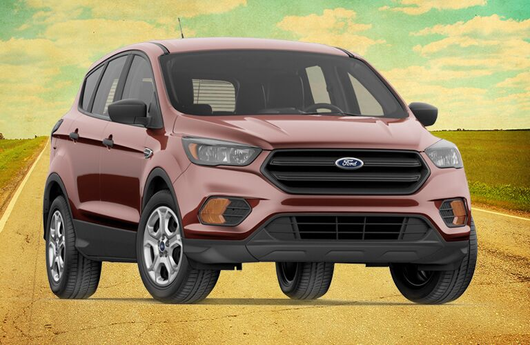 2018 Ford Escape S on a sunny day