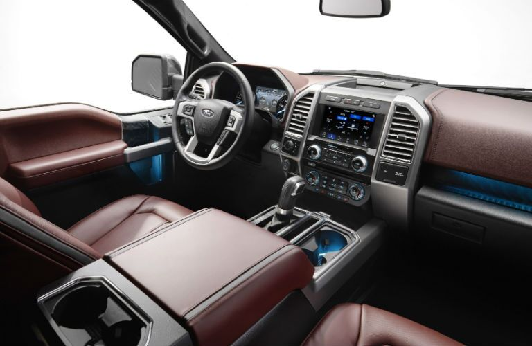 2018 Ford F-150 interior driver's seat