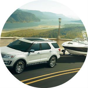 2017 Ford Explorer towing capability