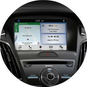 2017 Ford Focus SYNC 3 display
