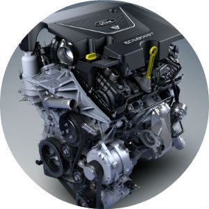 2017 Ford Fusion EcoBoost engines
