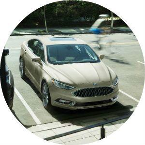 2017 Ford Fusion Platinum trim