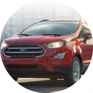 2018 Ford EcoSport SE trim