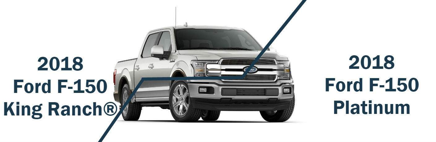 2018 ford f 150 king ranch vs platinum jack madden ford. Black Bedroom Furniture Sets. Home Design Ideas