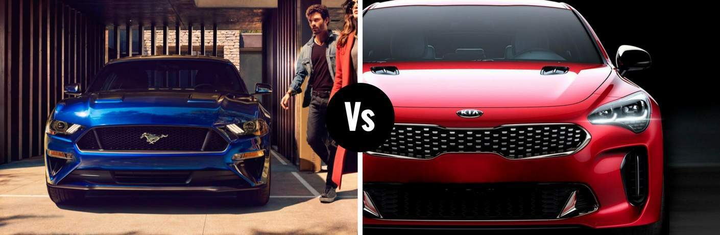 2018 Ford Mustang vs 2018 Kia Stinger